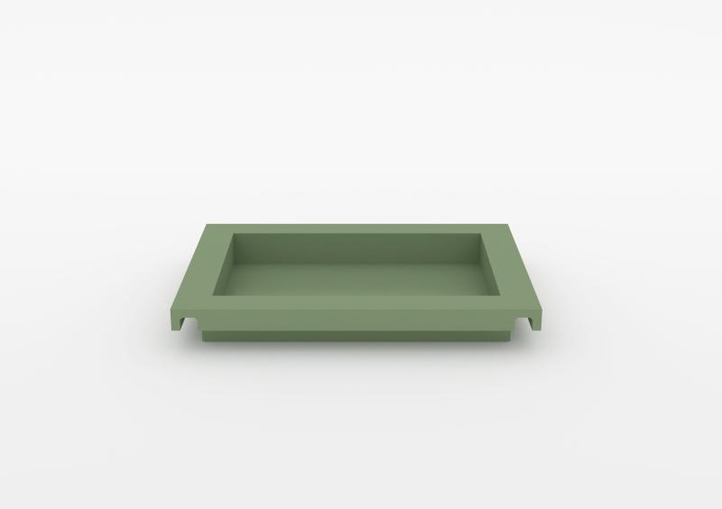 Small Tray – Lacquered – Light Green – MARQQA Furniture
