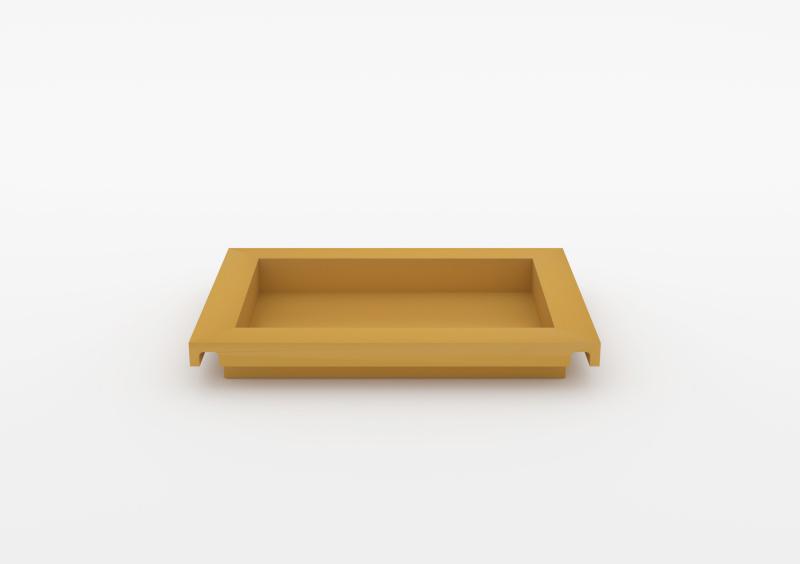 Small Tray – Lacquered – Mustard – MARQQA Furniture