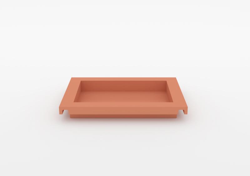 Small Tray – Lacquered – Rose – MARQQA Furniture