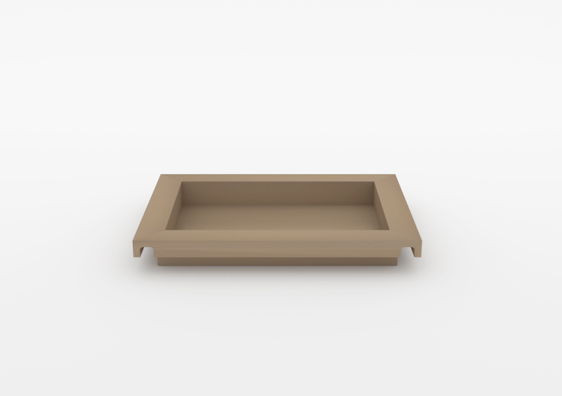Small Tray – Lacquered – Taupe – MARQQA Furniture