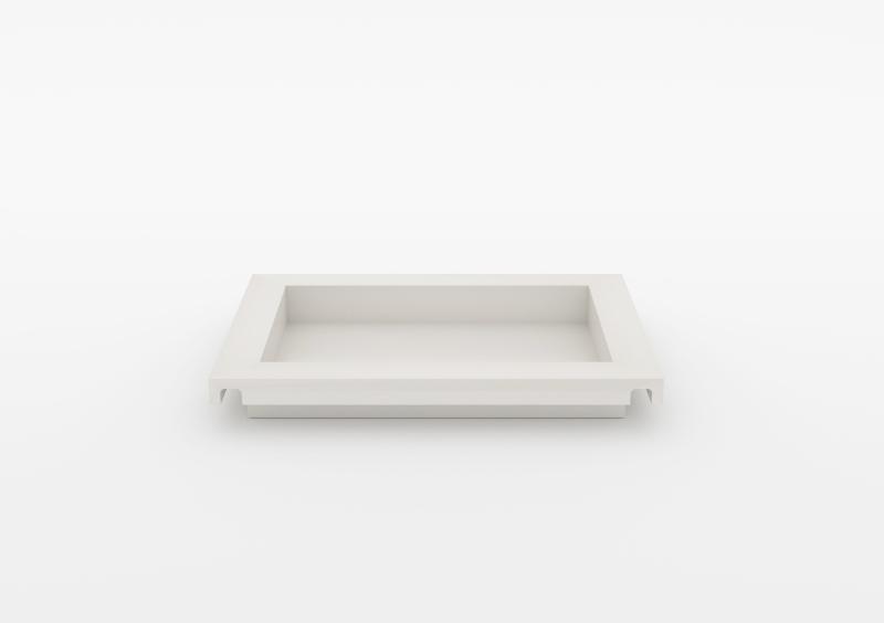 Small Tray – Lacquered – White – MARQQA Furniture