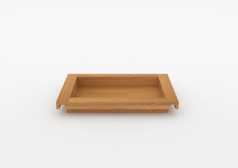Small Tray – Wood – Natural – MARQQA Furniture
