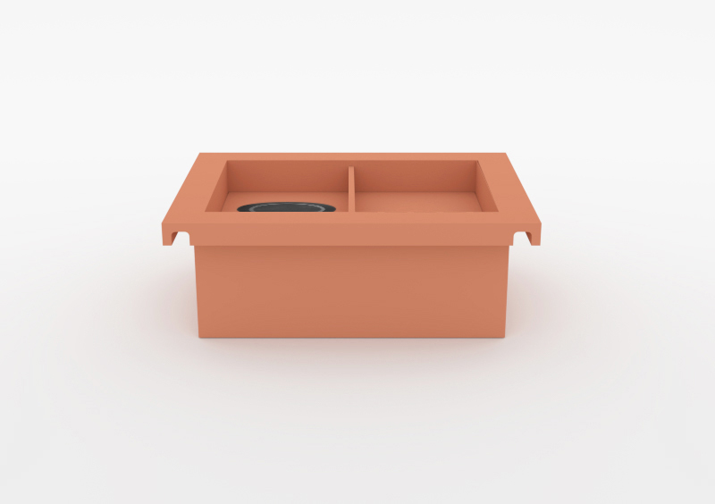 Charging Box – Lacquered – Rose – MARQQA Furniture