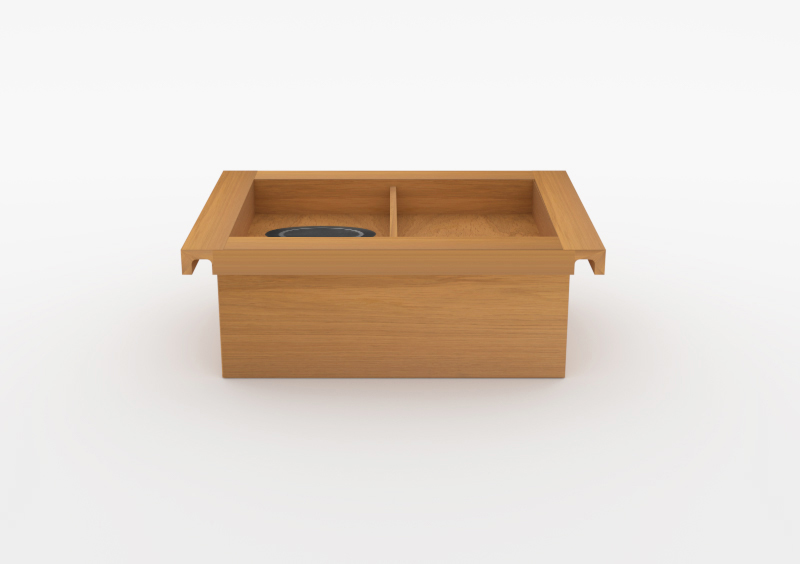 Charging Box – Wood – Natural – MARQQA Furniture
