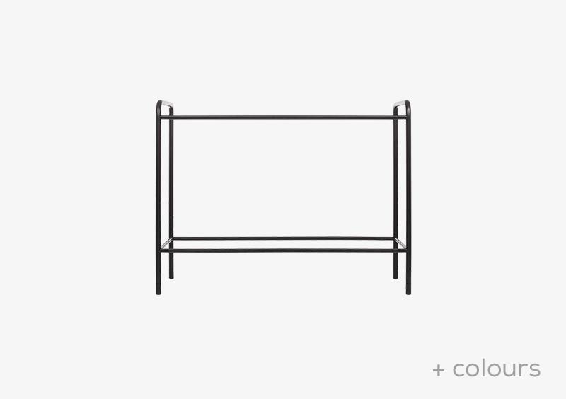 Console Table Structure – Metal – Black – MARQQA Furniture