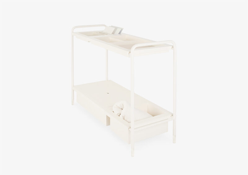 Console Table – Lacquered – White – AIDA by MARQQA Furniture