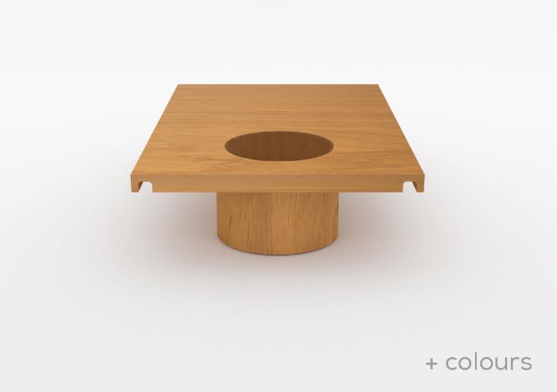 Large Pot – Wood – Natural – MARQQA Furniture
