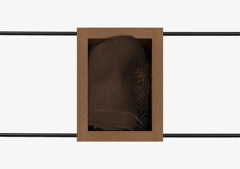 Side Table – Wood – Black – CASPER by MARQQA Furniture
