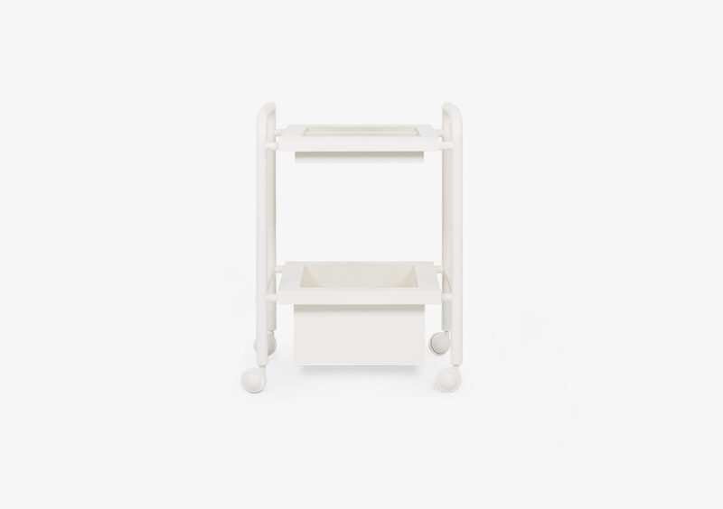 Side Table – White – Lacquered – LISA by MARQQA Furniture