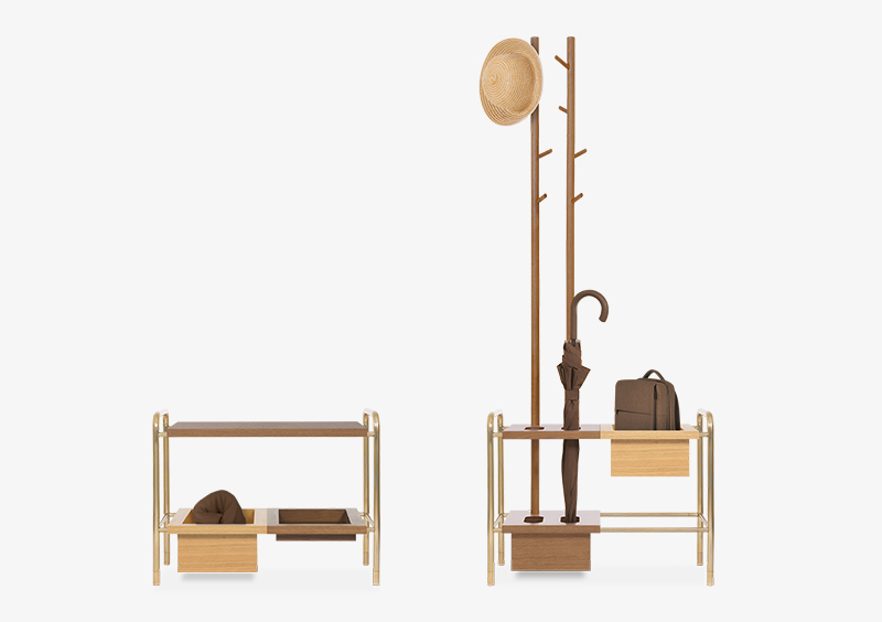 Side Table – Coat Stand – MARQQA Furniture