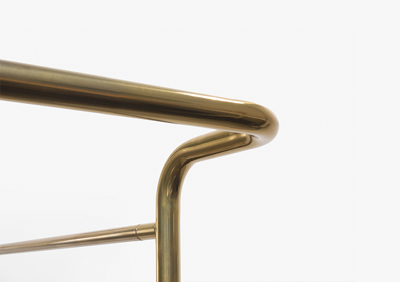Polished Stainless Steel Structure – Customizable Furniture – MARQQA Furniture
