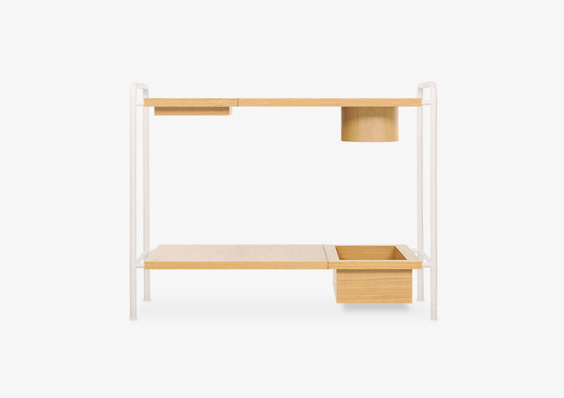 Console table – Wood – White – ELLIOT by MARQQA Furniture